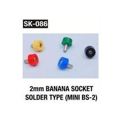 2 mm banana socket solder Type (MINI BS 2)