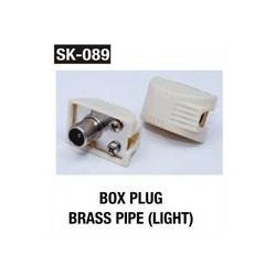 Box Plug Brass Pipe (Light)