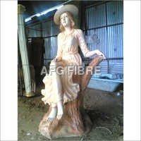 English Women Statue