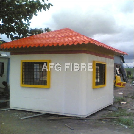Security Cabin in FRP