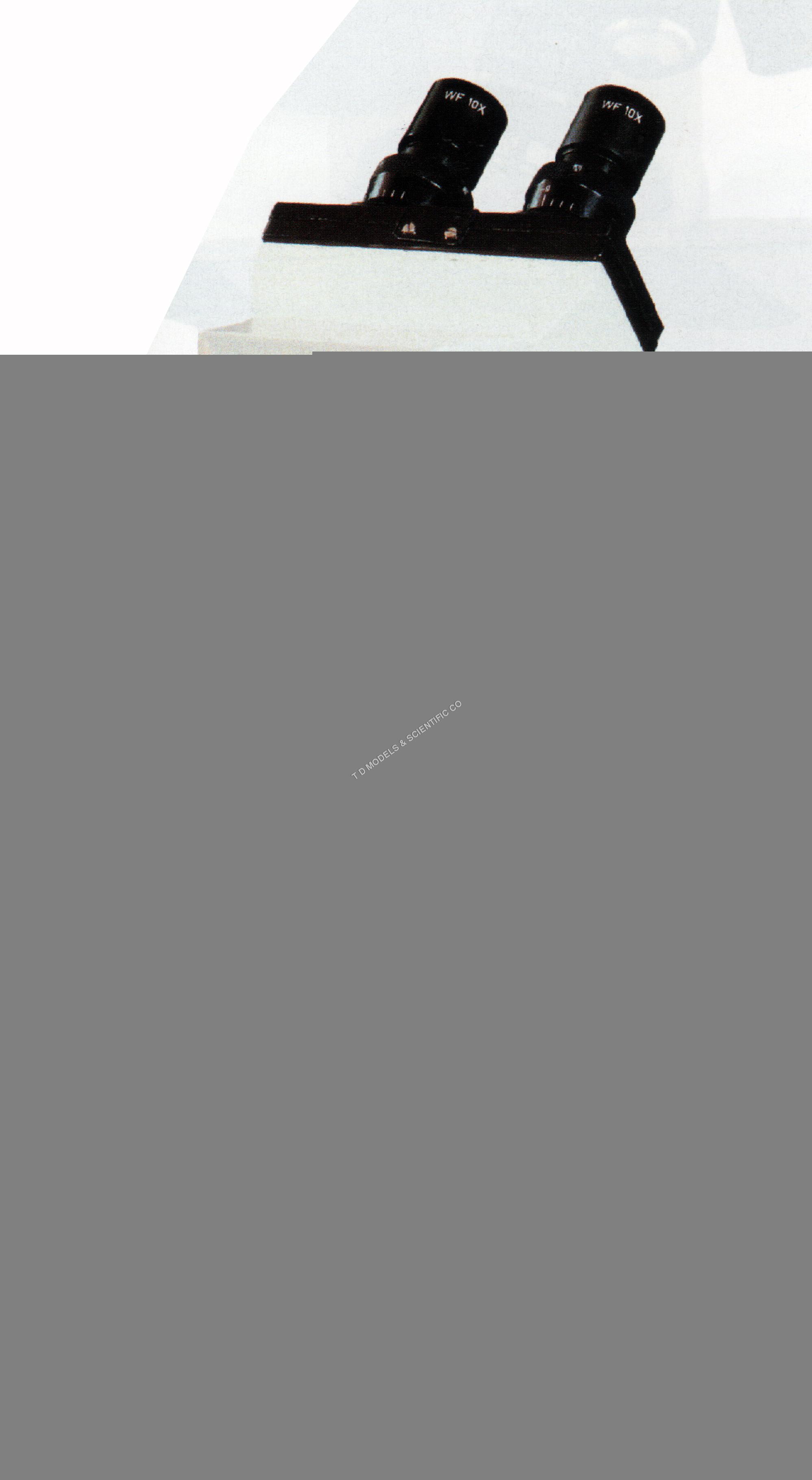BINOCULAR LABORATORY MICROSCOPE MODEL HL CMS 1000