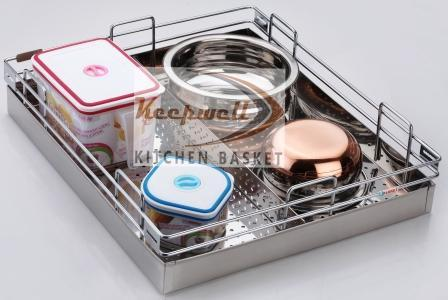 Perforated Partition Kitchen Basket