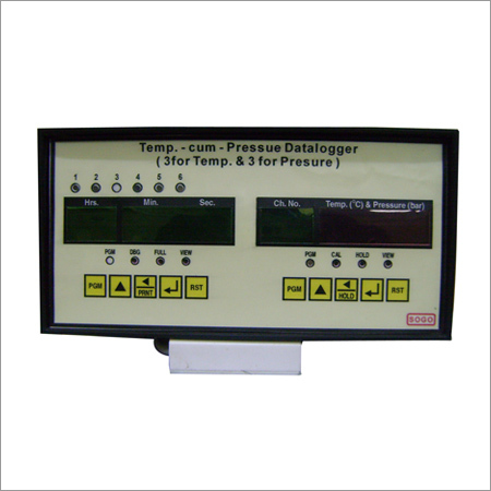 Temperature Cum Pressure Data Logger