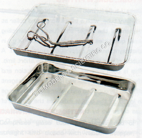 DISSECTING DISHES STAINLESS STEEL