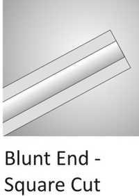Blunt End Square Cut Cannula