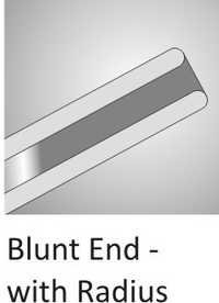 Blunt End With Radius