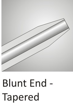 Blunt End Tapered Cannula