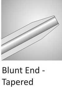 Blunt End Tapered