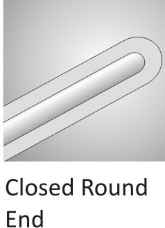Closed Round End Cannula