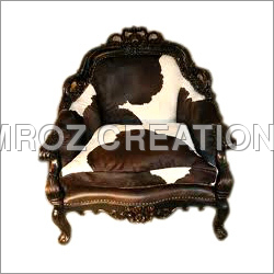 Leather Nostalgic King Chair