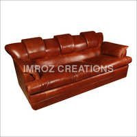 Lounge Leather Sofa Set