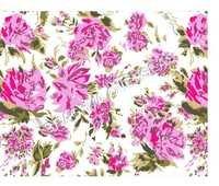 Indian Flower Print Fabric