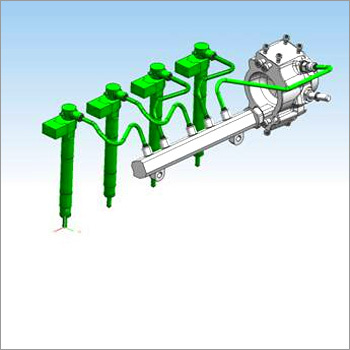 High Pressure Fuel Pipe