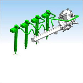 Common Rail High Pressure Fuel Pipe
