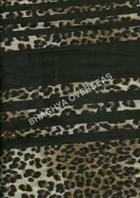 Tiger Print Cotton Fabric