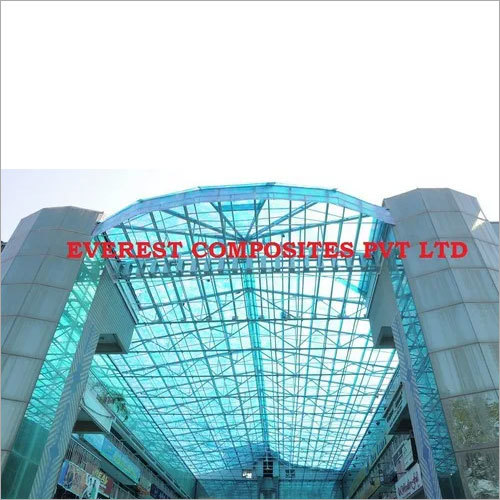 FRP Sheet Shed for Shopping Mall