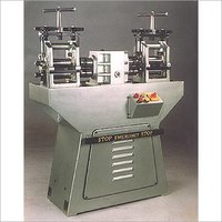 Jewellery Rolling Mill Machines