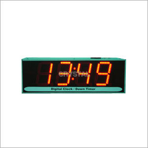 Digital Display Clock