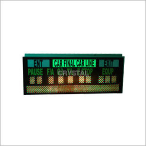 Industrial Alphanumeric Multi Colour Display