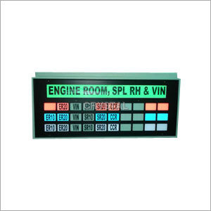 Multi Colour Cluster Display Board