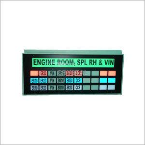 Multi Colour Cluster Display Board
