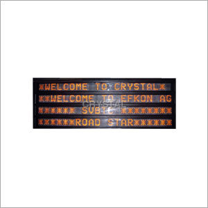Industrial Variable Message Signs