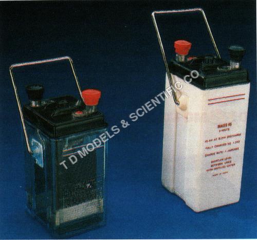 Accumulators in polystyrene case