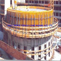 H Beam Curved Wall Formwork