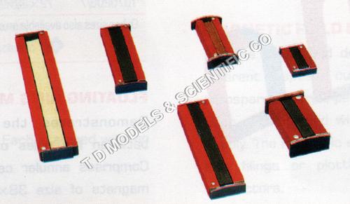 Bar Magnets chrome steel