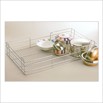 Multi Function Steel Corner Baskets