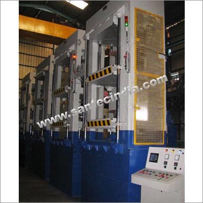 Flap Moulding Hydraulic Press