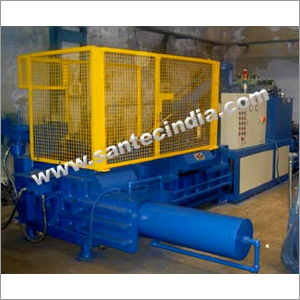 Triple Compression Scrap Baling Press