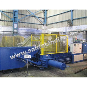 Horizontal Triple Compression Scrap Baling Press