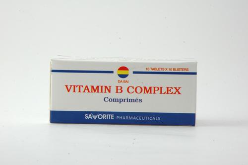 Vitamin B Complex Comprimes