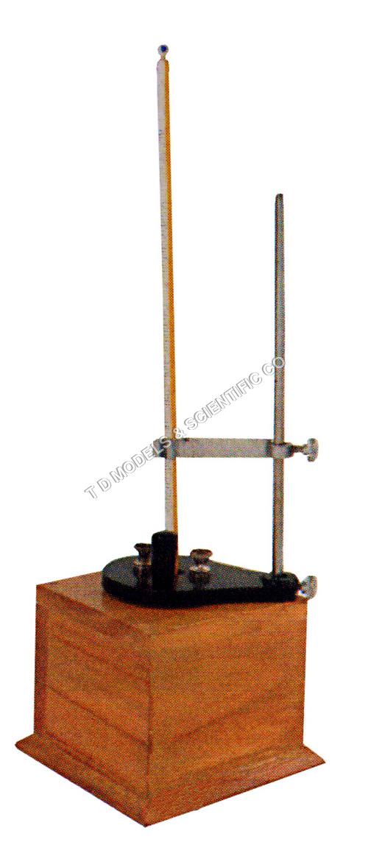 Calorimeter joules in wooden box
