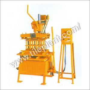 Manual Paving Block Making Machines