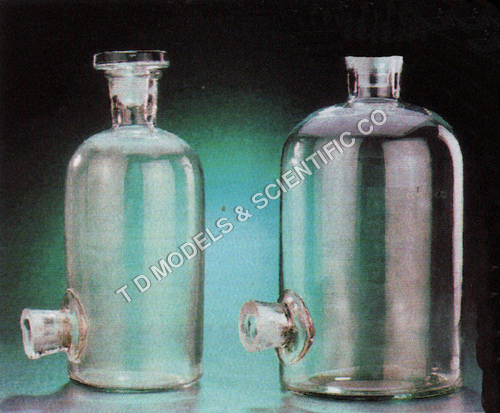 ASPIRATOR BOTTLES, SODA GLASS
