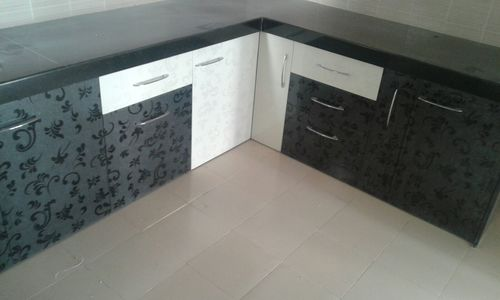 Pvc Modular Kitchen Furniture