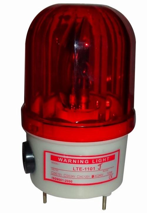 Industrial security warning light