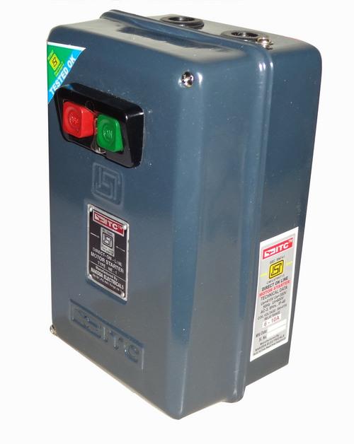Electric motor starter