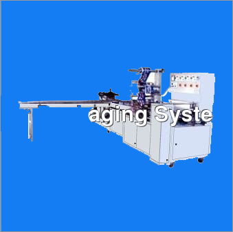 Tray Free Cream Biscuit Packing Machine