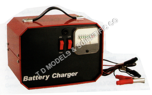 BATTERY CHARGER, HEAVY DUTY