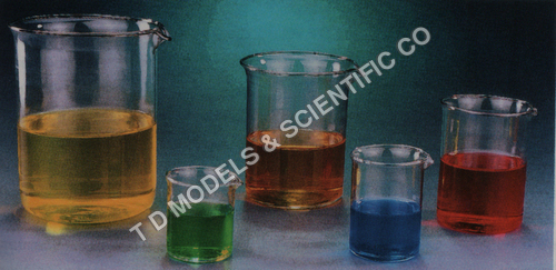 BEAKERS GLASS LOW FORM ECONOMICAL