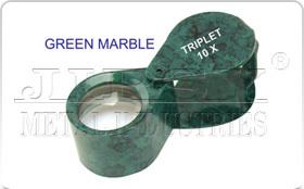 Green Marble Eye Loupe