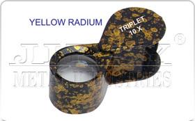 Yellow Radium Eye Loupe