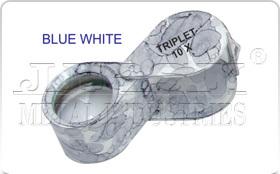 Blue White Eye Loupe