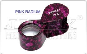Pink Radium Eye Loupe