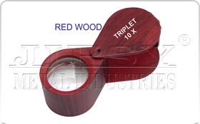 Red Wood Eye Loupe