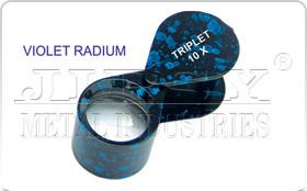Violet Radium Eye Loupe
