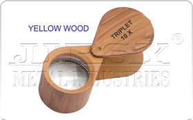 Yellow Wood Eye Loupe